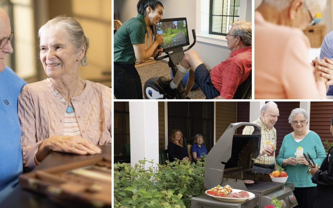 Encouragement for when you feel guilty about moving a parent or spouse to assisted living